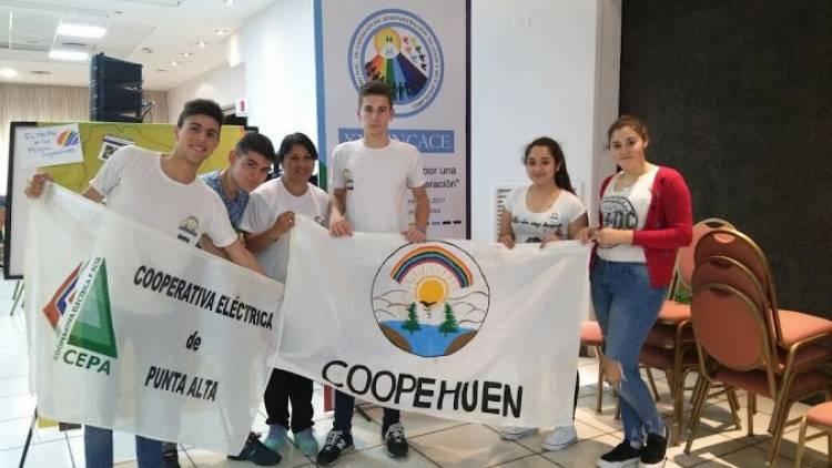 Pehuen Co: Alumnos diseñaron puntos para separación de líneas de Pesca