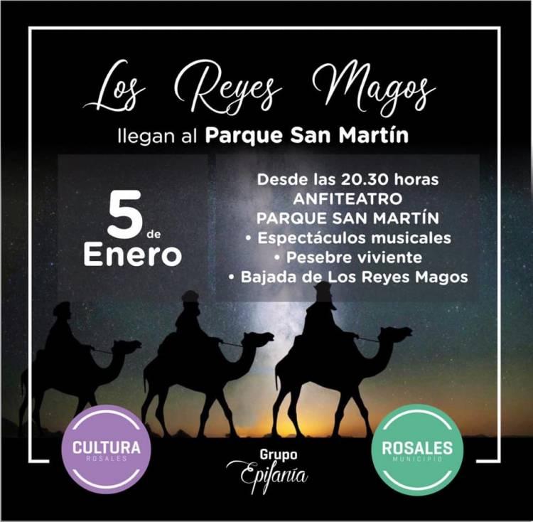 Los Reyes Magos llegarán al Parque San Martín