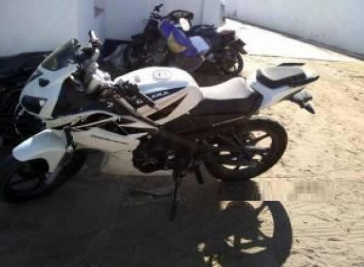 Procuran hallar al propietario de una moto secuestrada
