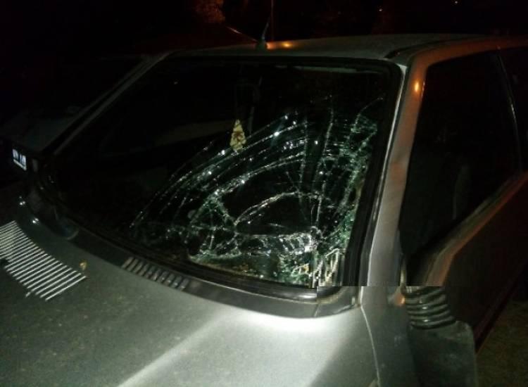 Una mujer fue atropellada en el camino a Arroyo Pareja