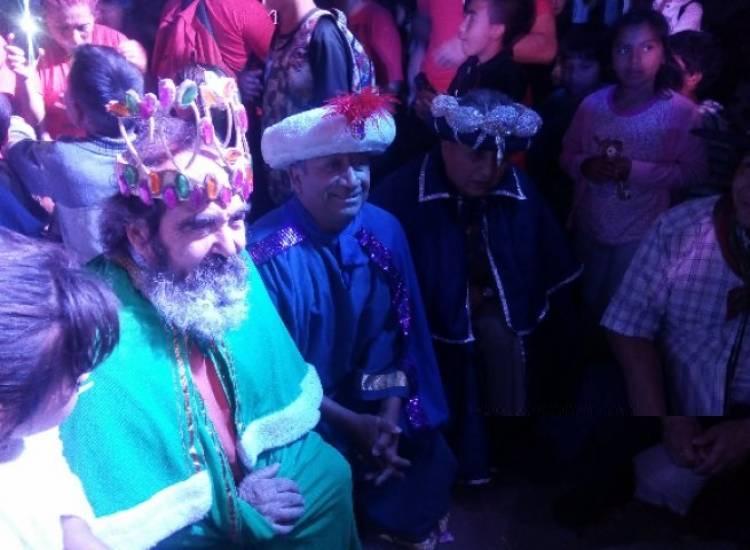 Cerca de 5 mil personas recibieron a los Reyes magos en el Parque San Martín