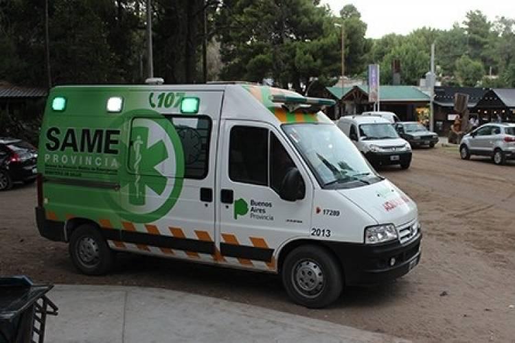 Pehuen Co: Una ambulancia del SAME está a disposición en la Villa Balnearia