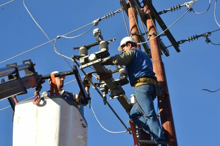 Corte de energía en un sector de Villa mora