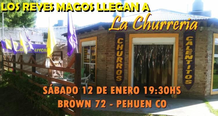 """Pehuen Co: Llegan los Reyes Magos a """"La Churrería"""" este sábado"""