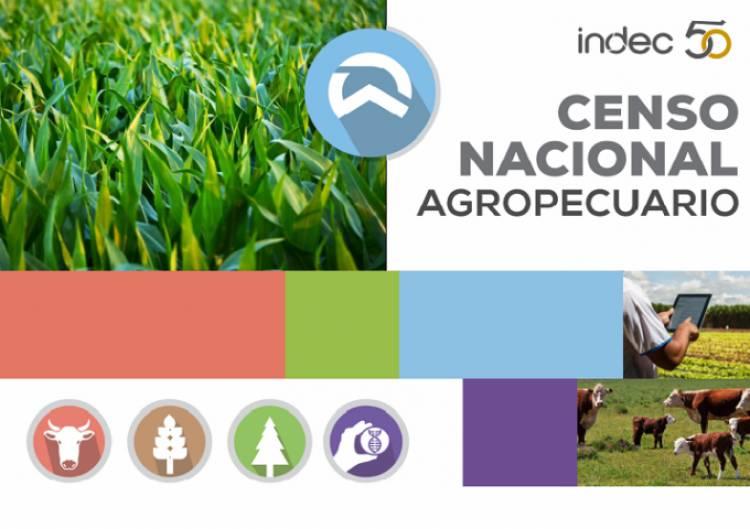 Se extendió el Censo Nacional Agropecuario hasta el 31 de marzo