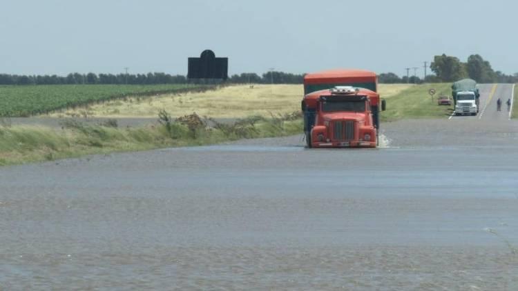 La Armada Argentina colaborará con la normalización de la Ruta Nacional 3