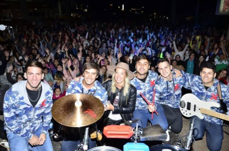 Pehuen Co: Leo García y Tachame la Doble animaron la noche este fin de semana