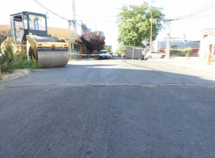Reasfaltado de calle 25 de Mayo entre Rivadavia y Mitre