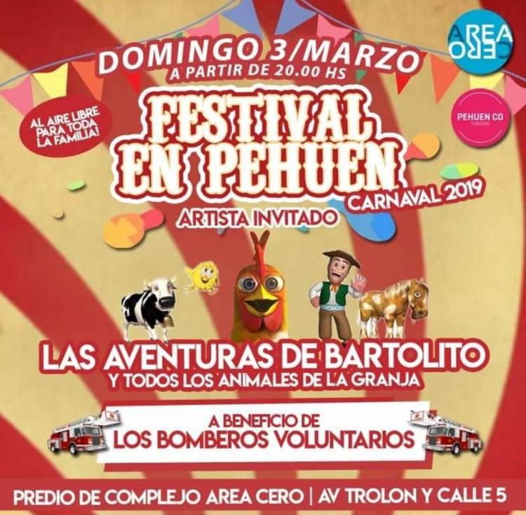 Pehuen Co: Se realizará un festival para toda la familia este fin de semana
