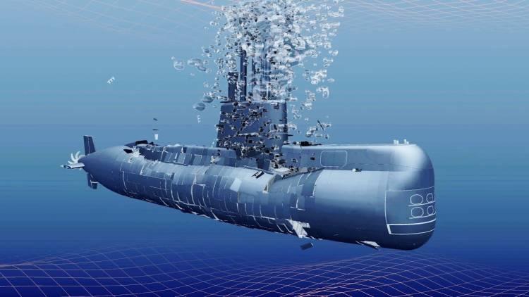ARA San Juan: lograron procesar las imágenes y armaron un mapeo 3D de la zona donde yace el submarino