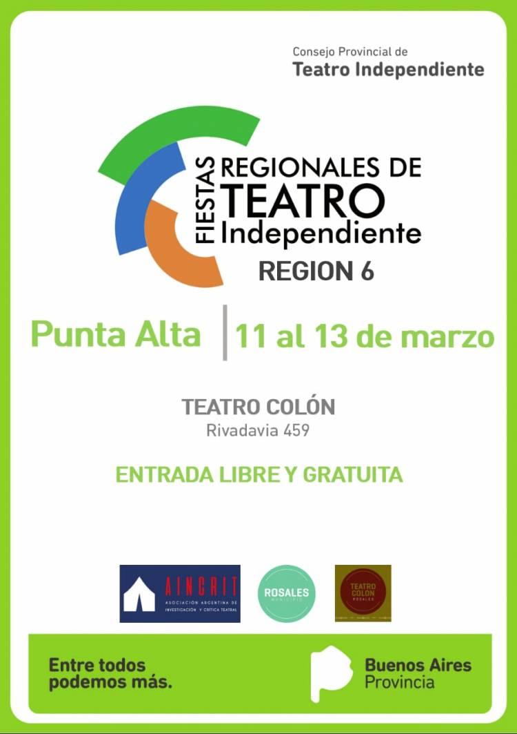 Rosales será sede del Encuentro Regional de Teatro Independiente