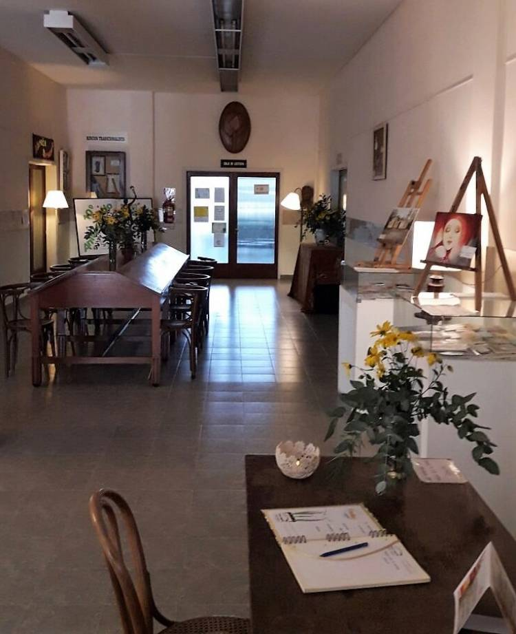 Convocatoria para exposiciones 2019 en la Biblioteca Alberdi
