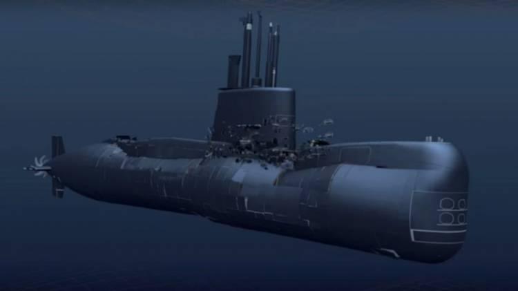 La Armada confirma que el ARA San Juan sufrió una implosión y se hundió más de 900 metros