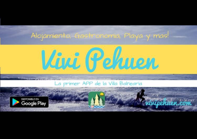 """Pehuen Co: Descargá la primer App de la Villa Balnearia, """"Viví Pehuen"""""""
