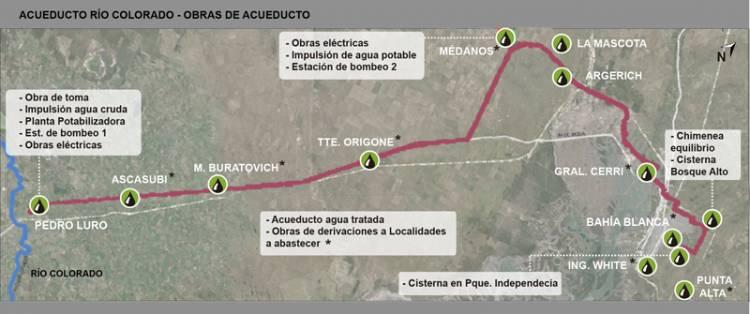 Piden reasignación de los fondos destinados al acueducto Río Colorado