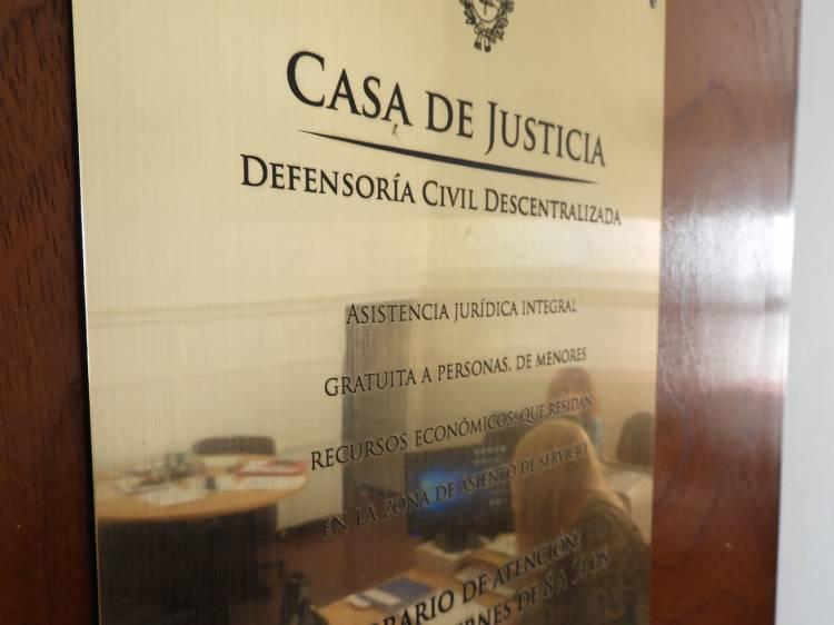La Casa de la Justicia atendió a más de 300 vecinos en 2018