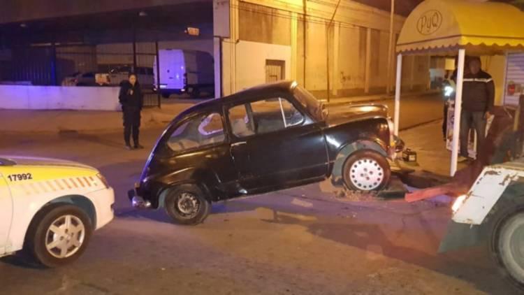 Choque en Saavedra y Belgrano, los conductores habían consumido alcohol