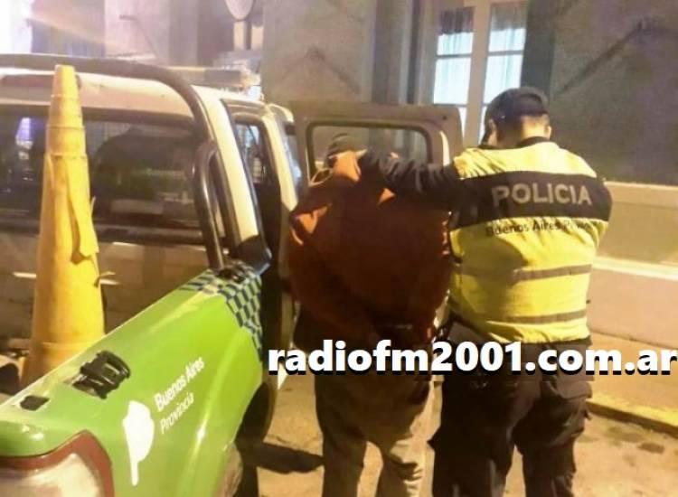 Detuvieron a un hombre que se accidentó cuando escapaba de la policía