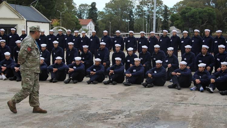 Los postulantes a Marinero Tropa Voluntaria transitan la segunda semana de PSP