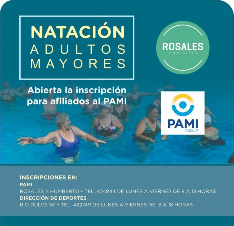El Municipio abrió la inscripción para Natación de adultos mayores de PAMI