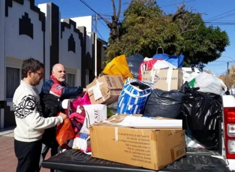 Entregaron las donaciones recibidas para la Campaña Abrigaditos