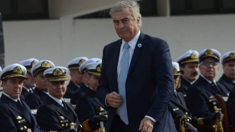 """Aguad salió a """"aclarar"""" sus dichos: """"Bajo ningún punto de vista hablé de responsabilidad de los submarinistas"""""""