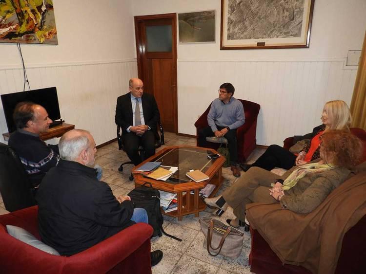 El intendente recibió a miembros de la DAIA de Bahía Blanca