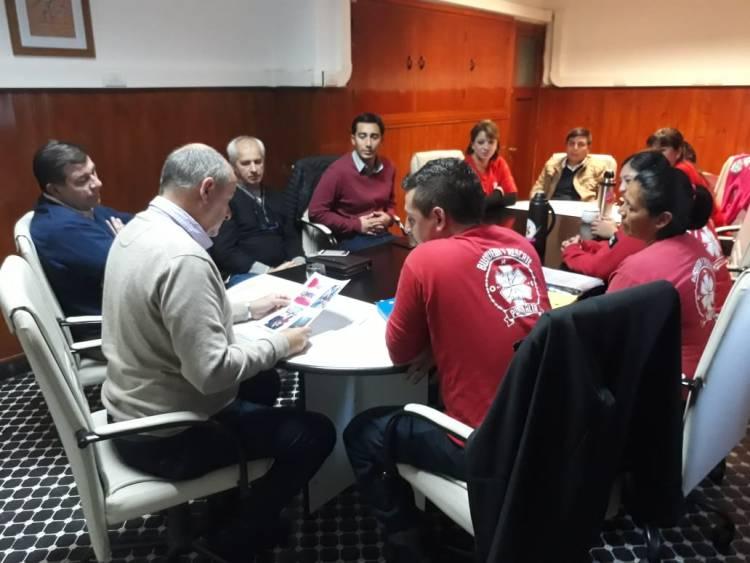 El Intendente recibió a la ONG Unidad de Búsqueda y Rescate Punta Alta