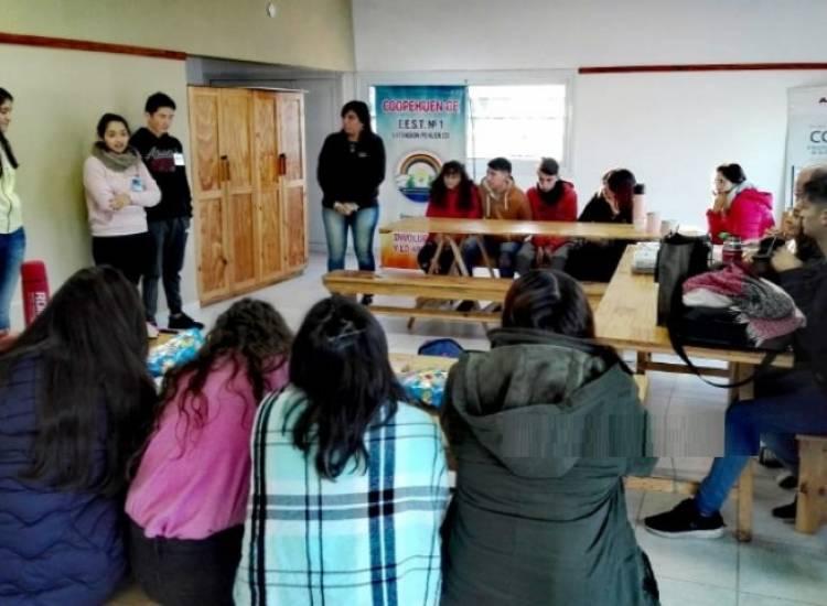 Pehuen Co: Se capacitan las Cooperativas Escolares
