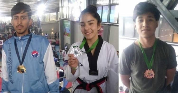 Puntaltenses obtuvieron medallas en el Provincial de Taekwondo