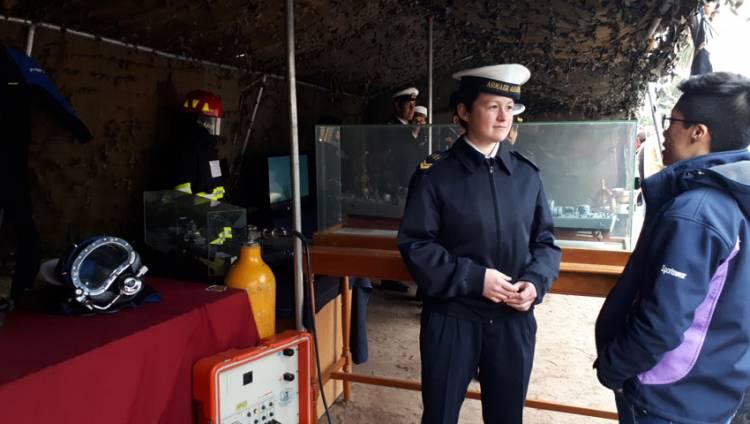 La Armada Argentina celebró junto a Punta Alta su aniversario
