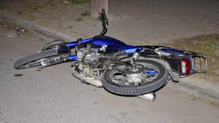 Un menor herido en un accidente de tránsito