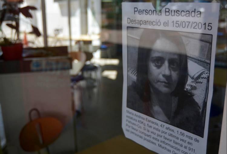 Andrea Esnaola: cuatro años de ausencia e interrogantes