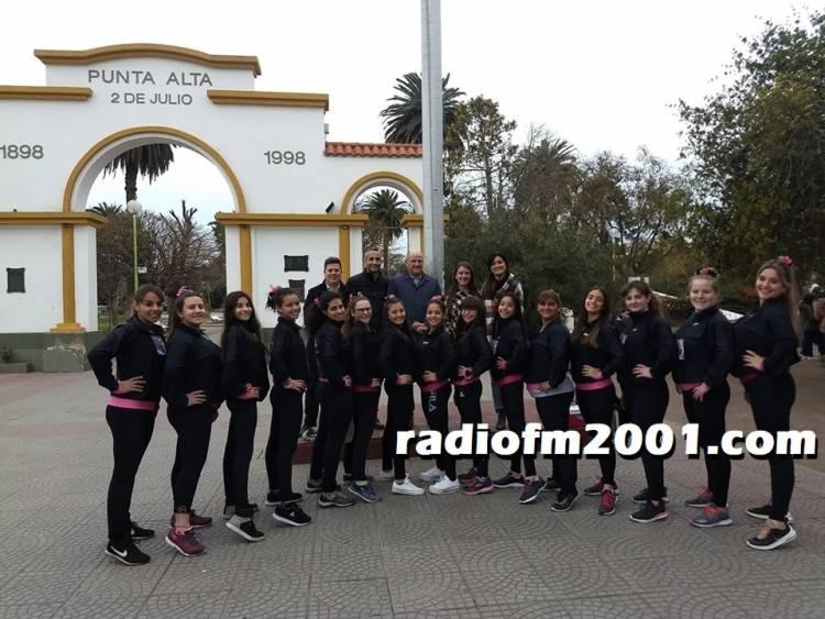Las chicas de Show For Ever partieron hacia Santiago del Estero a una Competencia Internacional de Patín