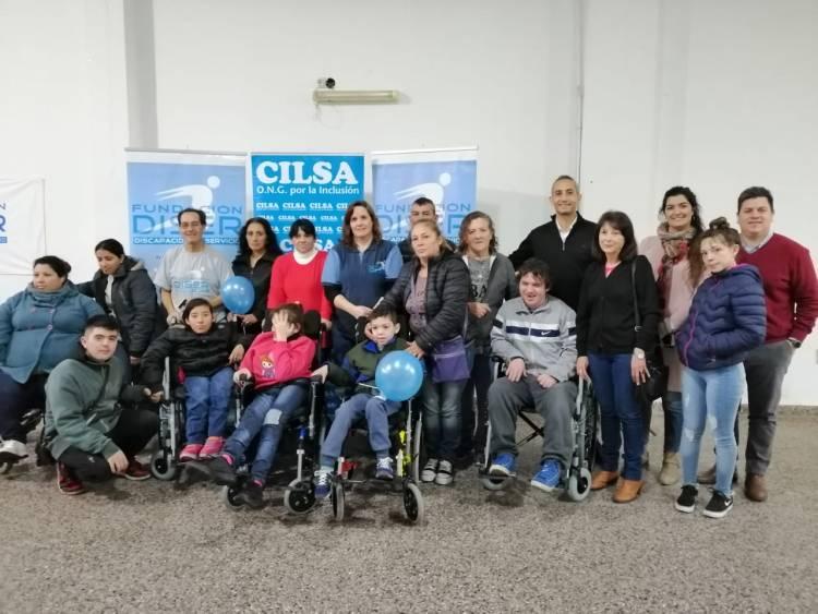 Se entregaron 5 sillas de rueda por gestiones de Desarrollo Social