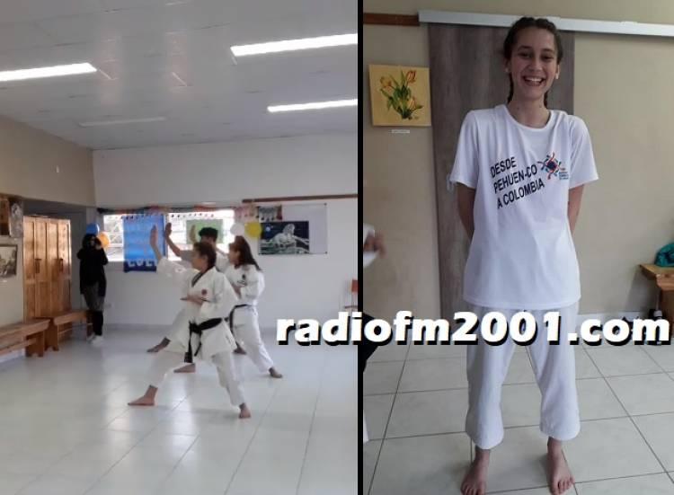 Pehuen Co: Candela Cotta y Lucia Jacob partirán hacia Colombia al Panamericano de Karate