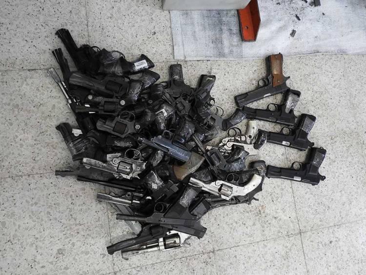 Se recibieron más de 400 armas en el Programa de Entrega Voluntaria