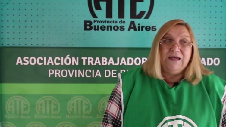 Ana Mendoza reelecta en la conducción de la ATE Punta Alta