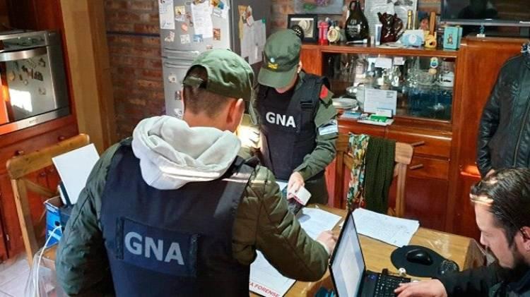 Gendarmería allanó una casa por un presunto abuso sexual