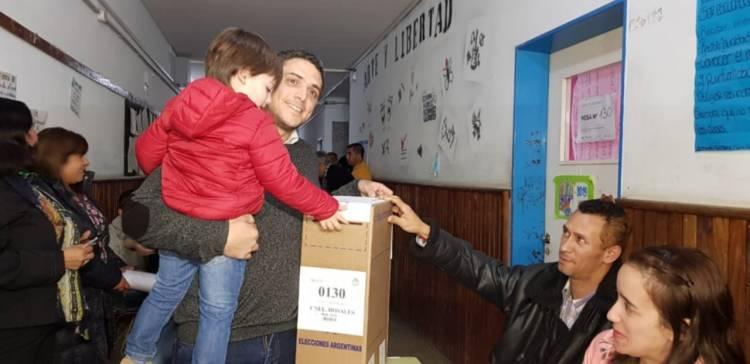 """Rodrigo Sartori: """"Quiero agradecer a los vecinos por el apoyo"""""""
