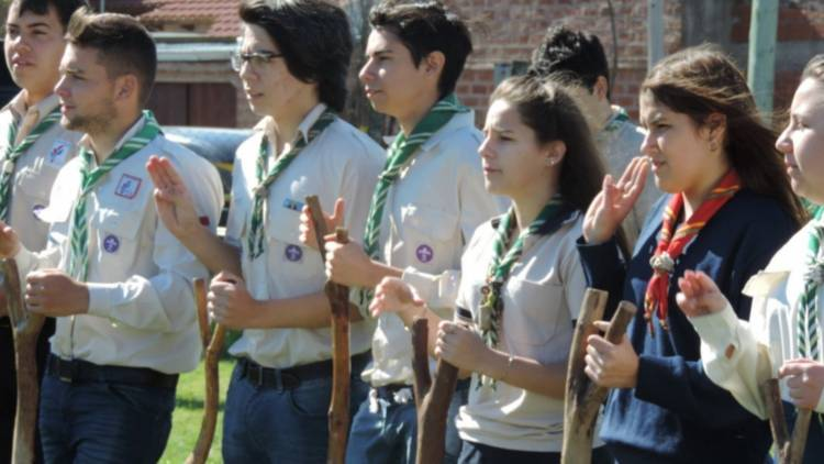 Scouts harán un campamento distrital en Coronel Rosales