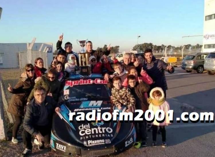 Olavarría: Ramiro Fernández hizo doble podio en el Turismo Promocional Standard