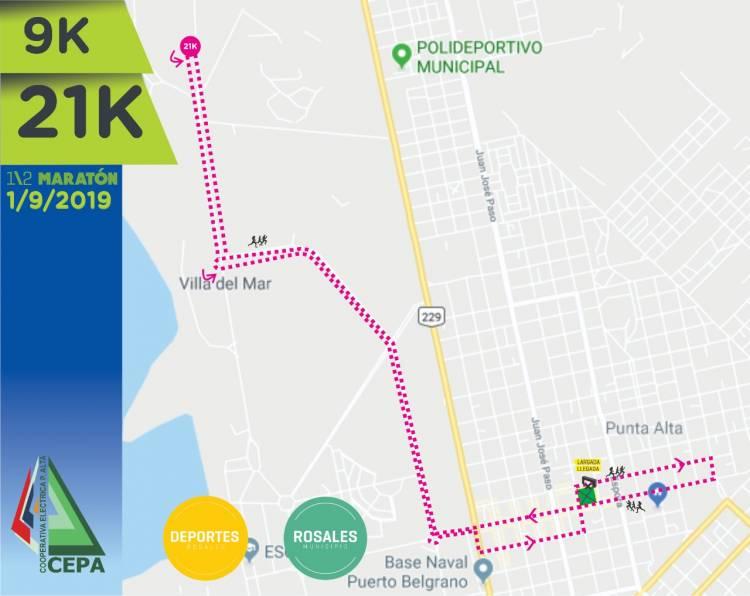 """Este domingo se correrán """"Los 9K y los 21K de Punta"""""""