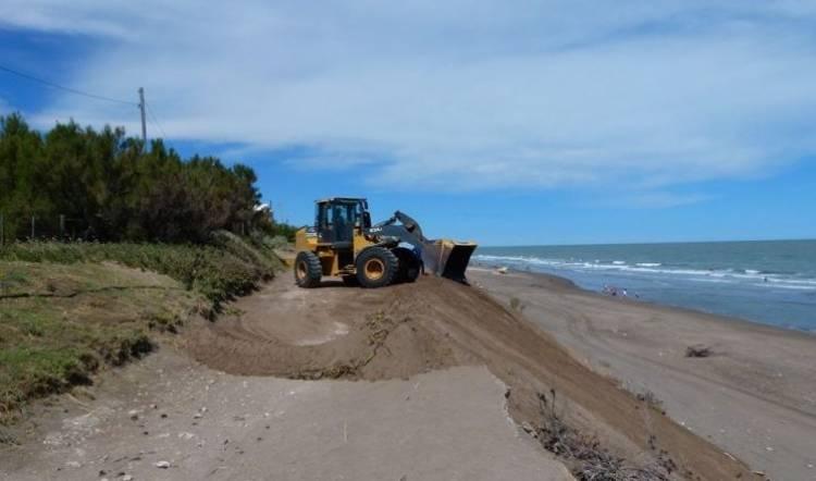 Pehuen Co: Preocupación por los efectos de la erosión costera