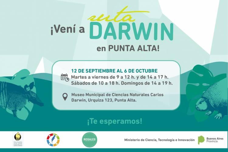 """Este jueves inicia la muestra """"Ruta Darwin"""" en nuestra ciudad"""