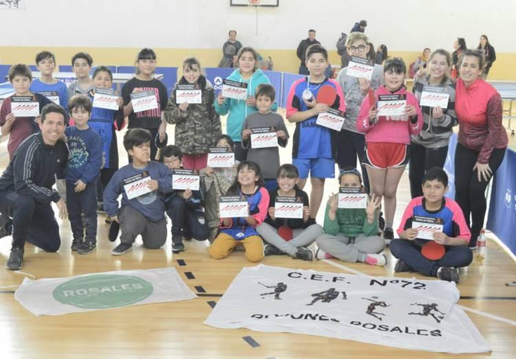 La Escuela de Iniciación Deportiva de Tenis de Mesa participó de regional en Tornquist