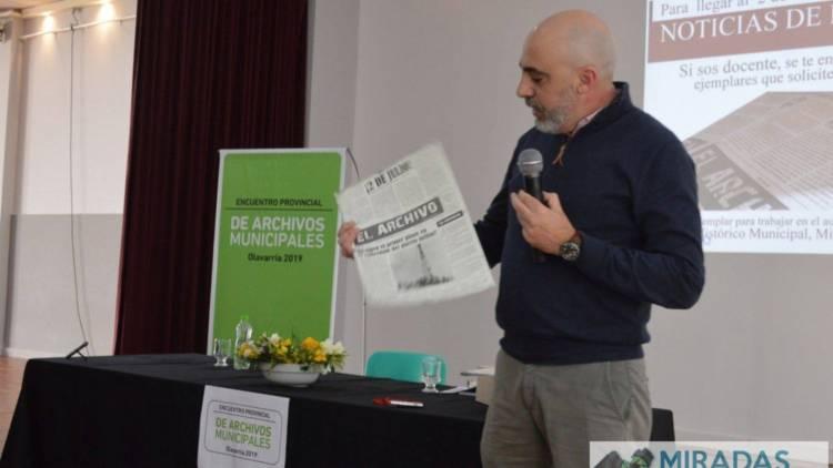 Olavarría: Encuentro Provincial de Archivos Municipales