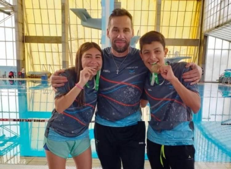 Torneos bonaerenses: Medalla de oro en Natación para Coronel Rosales