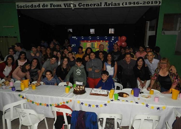 El Programa Envión cumplió su primer año en Villa Arias