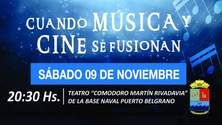 Puerto Belgrano: Música y Cine en concierto